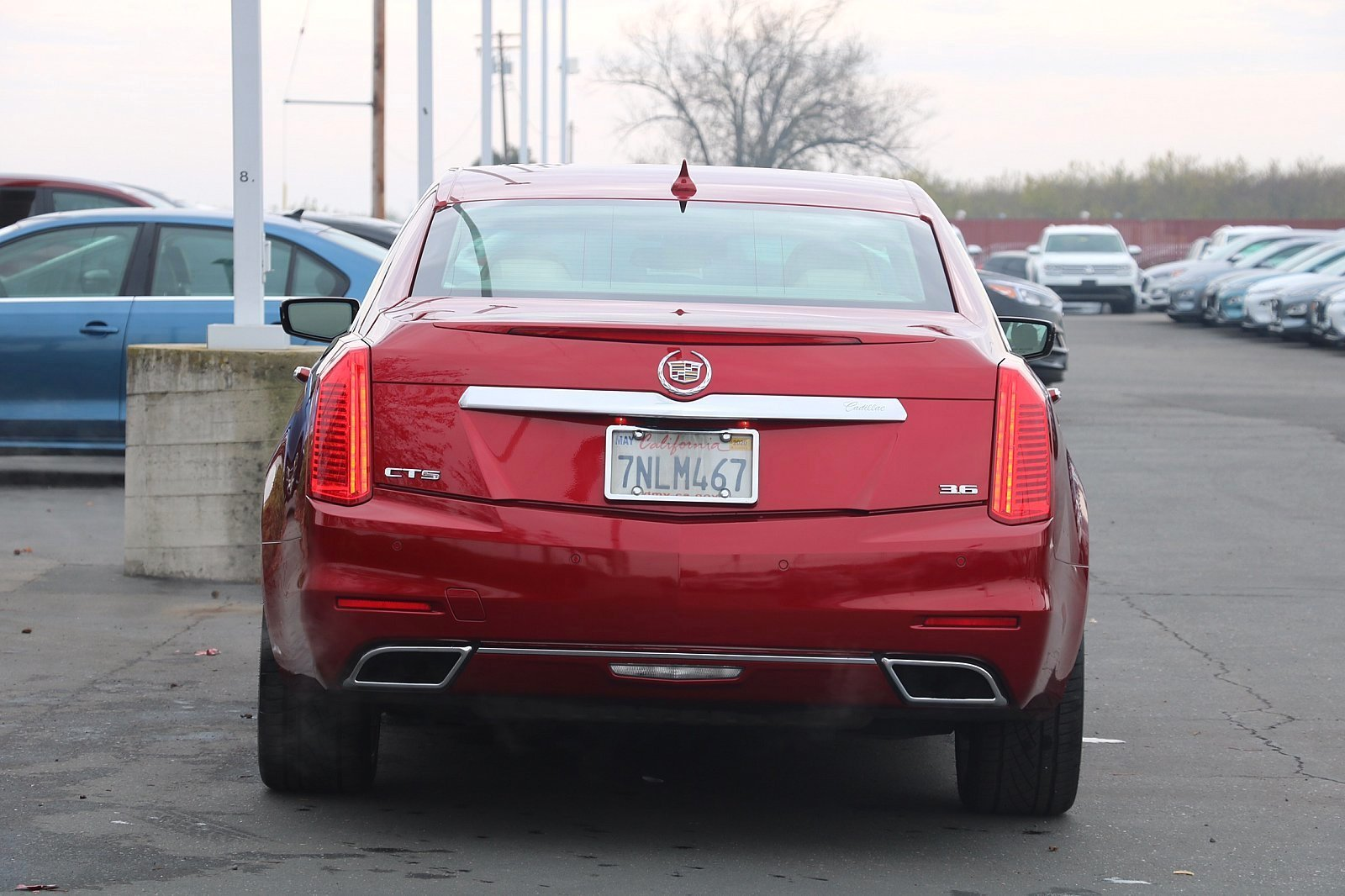 Pre-Owned 2014 Cadillac CTS Sedan Premium RWD
