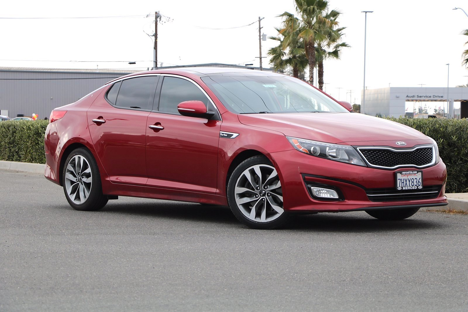 Pre-Owned 2014 Kia Optima SX Turbo